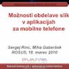 Predstavitev o razvoju aplikacij za mobilnike – posebej iPhone