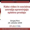Kako video in socialna omrežja spreminjajo spletno prodajo