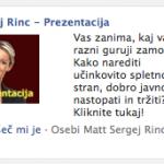 Facebook oglaševanje je učinkovito trženje