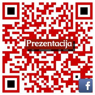 QR koda Facebook Prezentacija