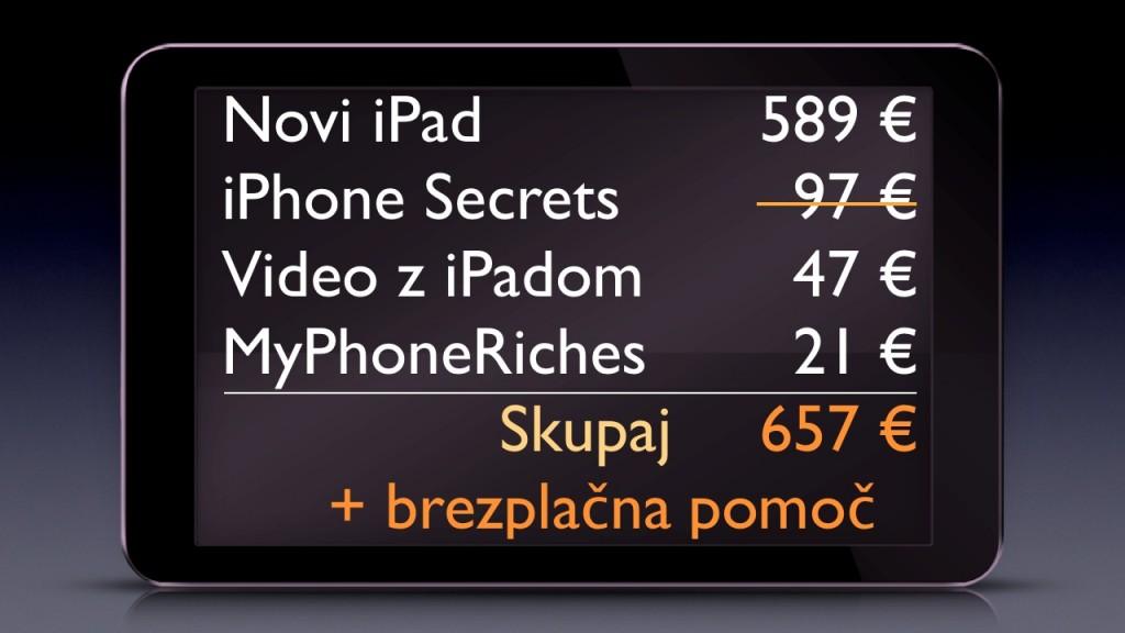 iPad Slovenija ponudba